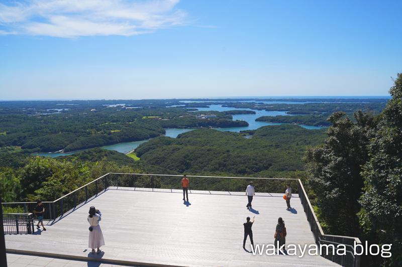 ミラドール志摩2階からの景色