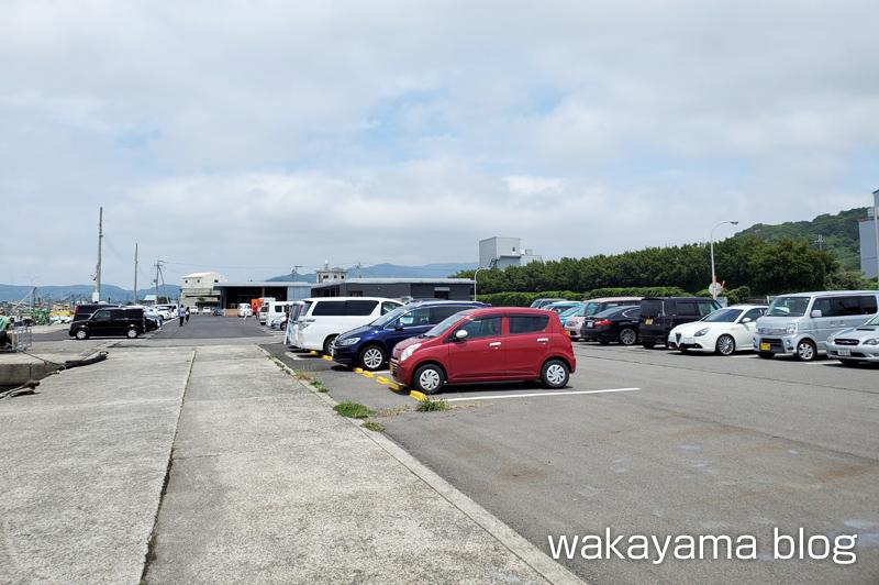 浜のうたせ 箕島漁港 駐車場