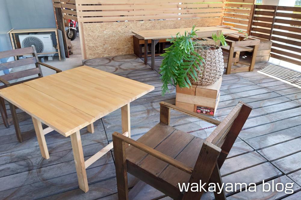 サードカフェ 有田川町 テラス