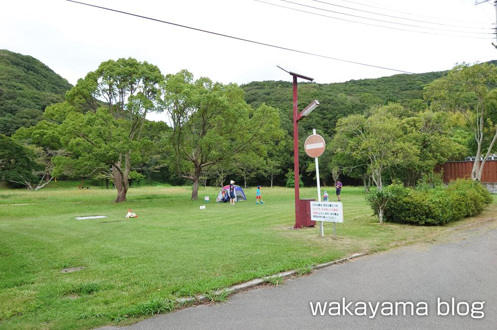 休暇村 紀州加太オートキャンプ場 芝生広場