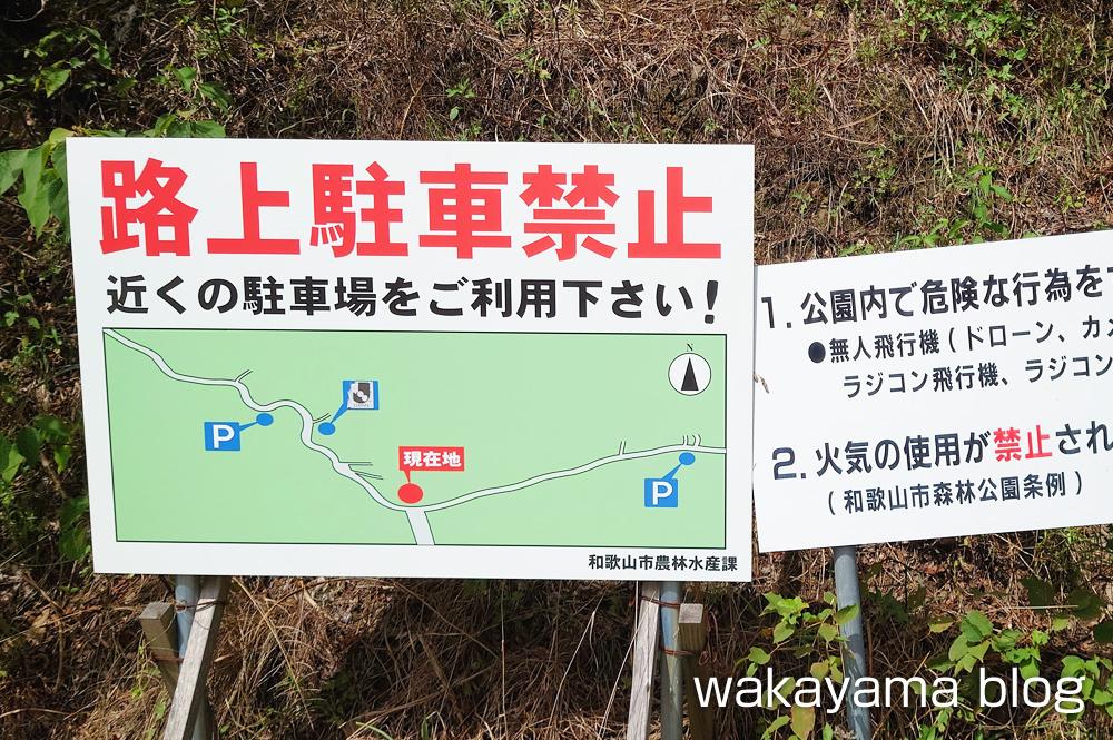 森林公園 和歌山市 駐車場