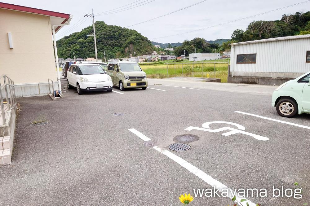 オリーブ 有田川町 パン屋 駐車場