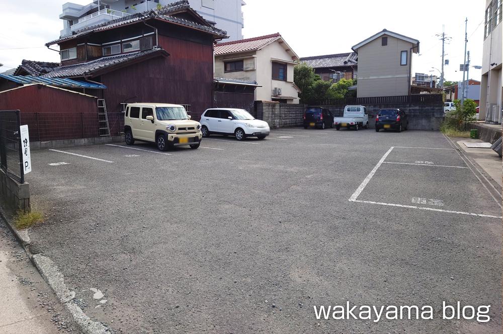 WAKAYA 津屋 駐車場