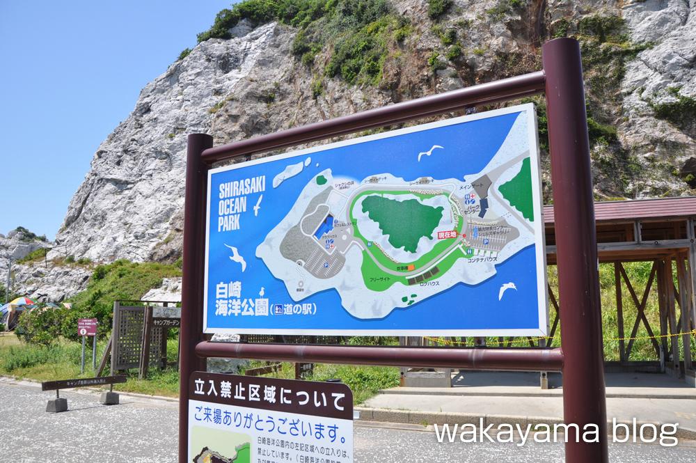 白崎海洋公園 キャンプ場