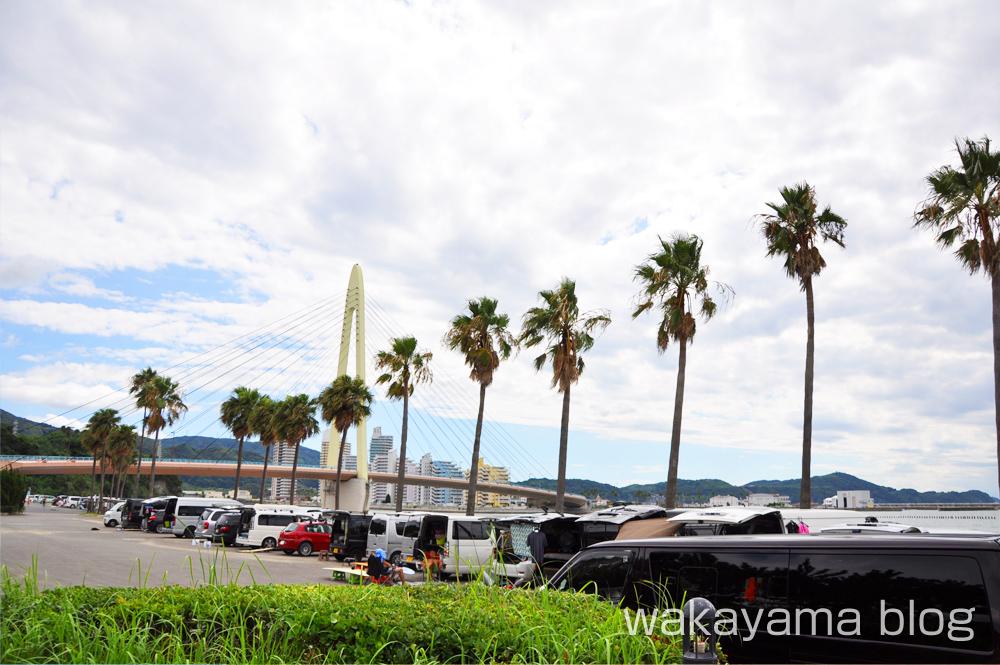 浜の宮ビーチ 和歌山市 駐車場