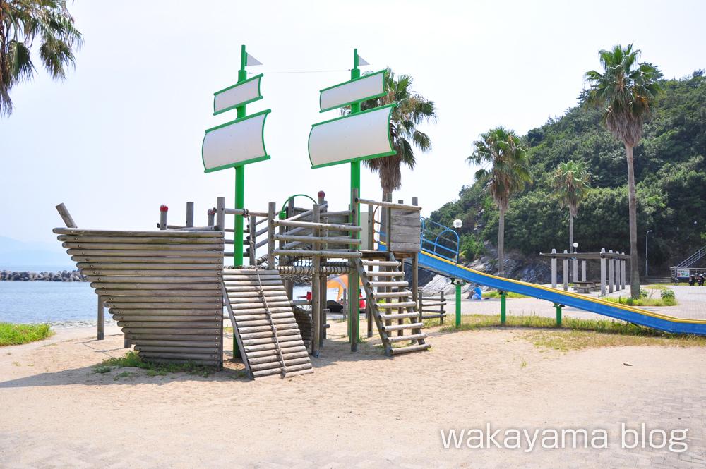 浪早ビーチ(なみはやビーチ) 遊具