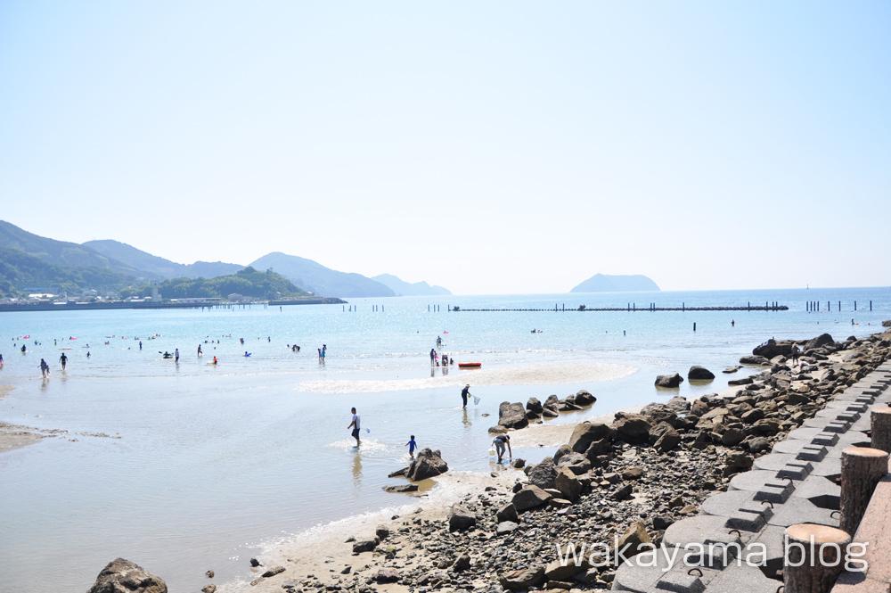 西広海岸 広川町の海水浴場(広川ビーチ)